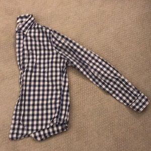 Abercrombie & Fitch burton down gingham